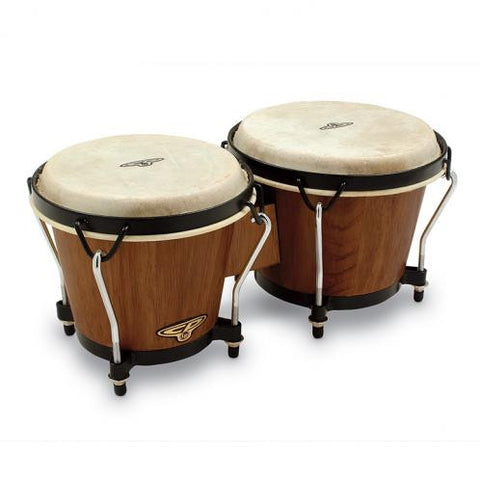 CP CP221-DW Traditional Bongos in Dark Wood | BW Drum Shop