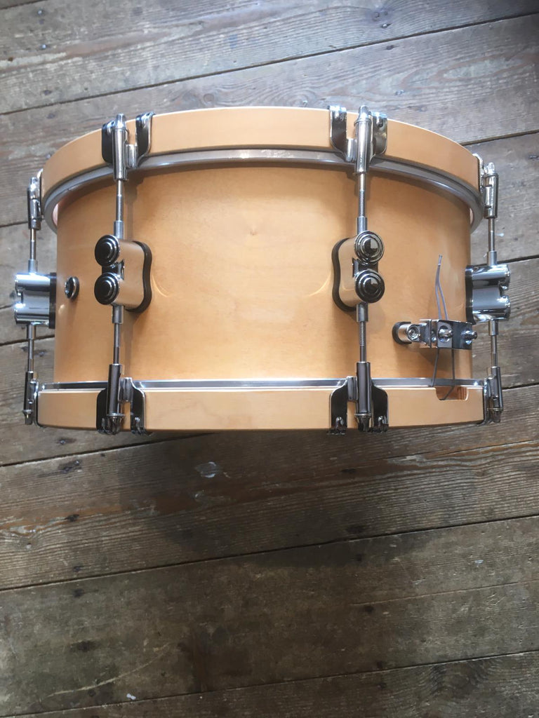 "PDP by DW Concept Classic 14 x 6.5"" Snare, Natural w/Natural hoops PDCC6514SSNN"