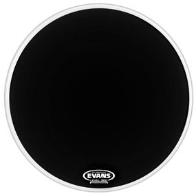 Evans EQ1 Resonant Black Bass Drum Head 22"