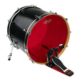 "Evans 22"" Hydraulic Red Bass Drum Head 