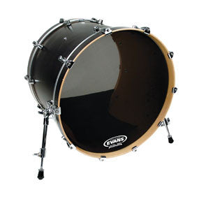 This is a picture of a Evans Retro Screen Resonant Bass Drum Head 22""