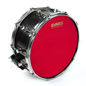 "Evans 14"" B14HR Hydraulic Red Coated Snare Drum Head"
