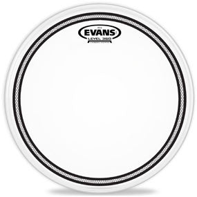 This is a picture of a Evans EC2 Coated Drum Head 10""