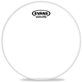 This is a picture of a Evans G14 Clear Drum Head 15""