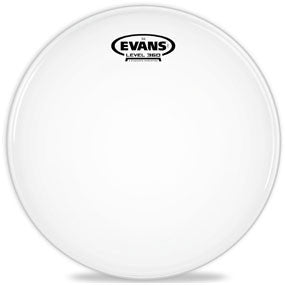 This is a picture of a Evans G12 Coated White Drum Head 14""
