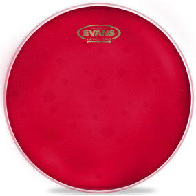 "This is a picture of a Evans 8"" Hydraulic Red Drum Head"