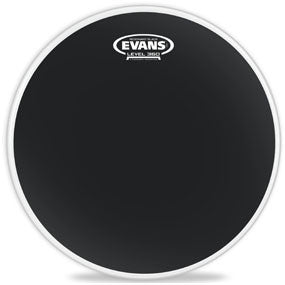 This is a picture of a Evans Resonant Black Drum Head 12""