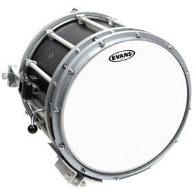 Evans Hybrid White Marching Snare Drum Head 13"