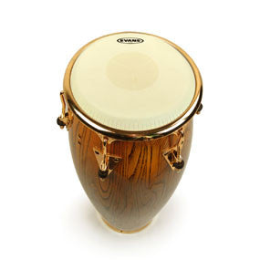 This is a picture of a Evans Tri, Center Conga Drum Head 11.75""