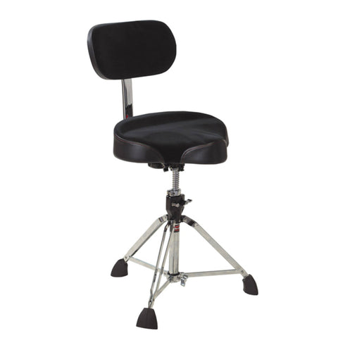 Gibraltar 9608MB Series Pro Moto Drum Throne with Back Rest
