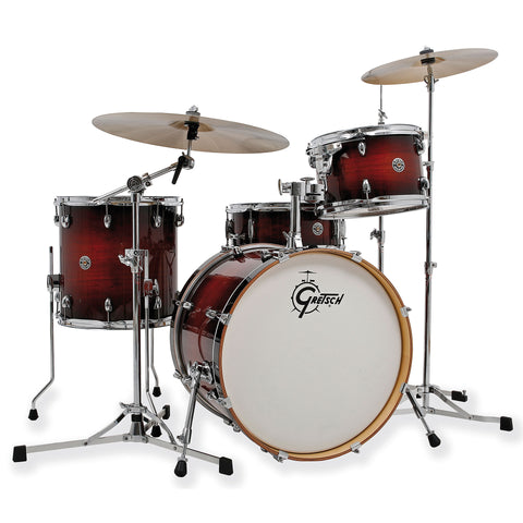 "Gretsch Catalina Club 20"" Drum Kit - Shell Pack - Gloss Antique Burst. Limited Offer."