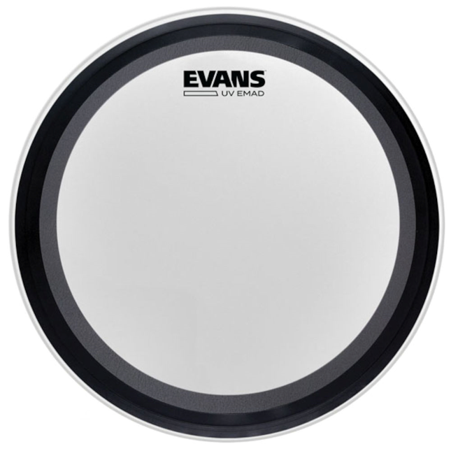 "Evans UV EMAD 16"" Coated Bass Drum Head"