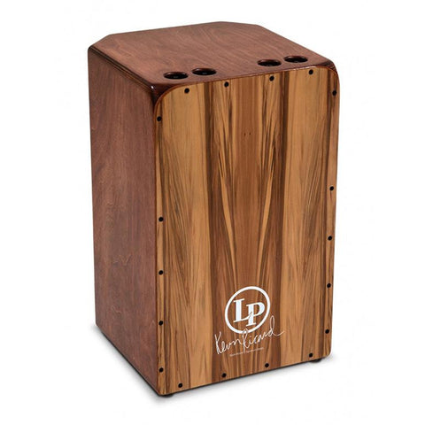 This is a picture of a LP Americana Cajon Kevin Ricard