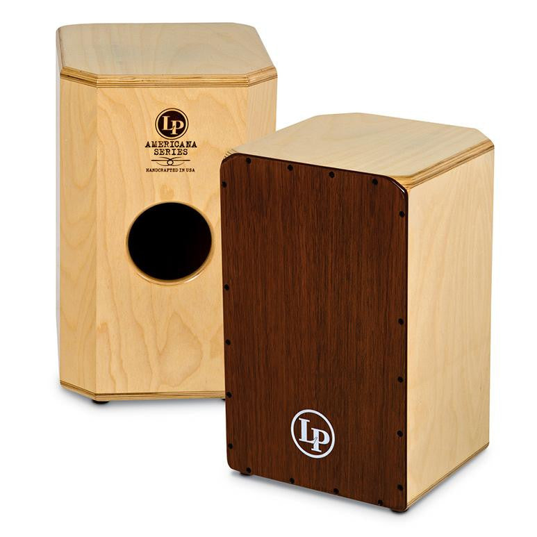 This is a picture of a LP Americana Wood Cajon Snare
