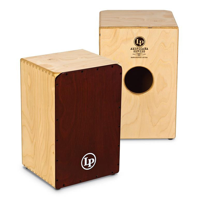 This is a picture of a Cajon Americana Series Peruvian Cajon, LP1439