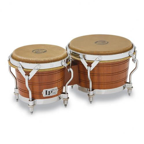 This is a picture of a LP Legend Beech Wood Bongos Johnny Dandy'' Rodriguez