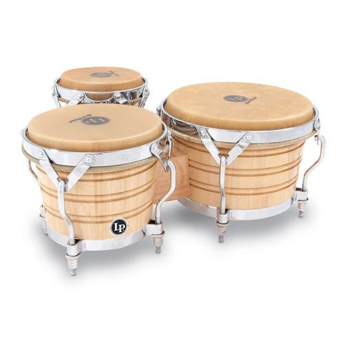 This is a picture of a LP Generation III Triple Wood Bongos