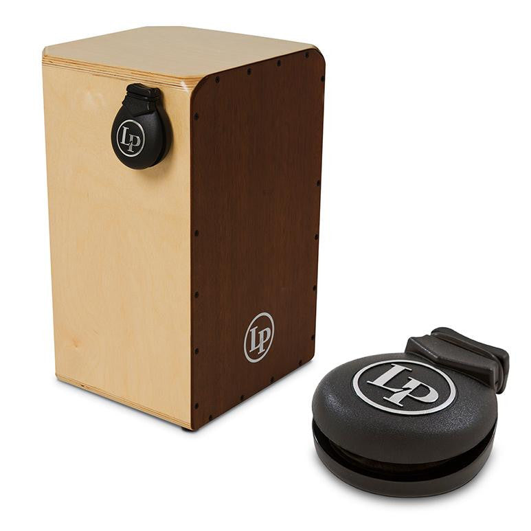 This is a picture of a LP Cajon Castanets Large