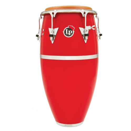 This is a picture of a LP Patato Fiberglass 11'' Quinto Red