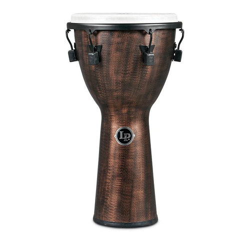 This is a picture of a Djembe World Beat FX Mechanically Tuned, 11-Inch, Copper