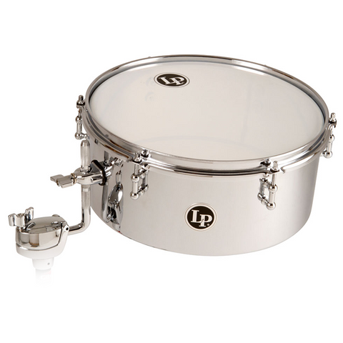 This is a picture of a LP Timbals Drum Set Timbales, 13""