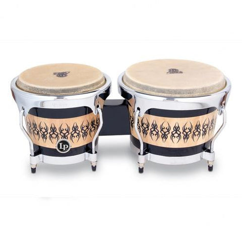 This is a picture of a LP Aspire Accent Bongos Scarab