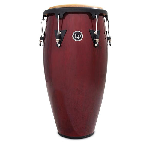 This is a picture of a LP Aspire Wood 11'' Conga Dark Wood