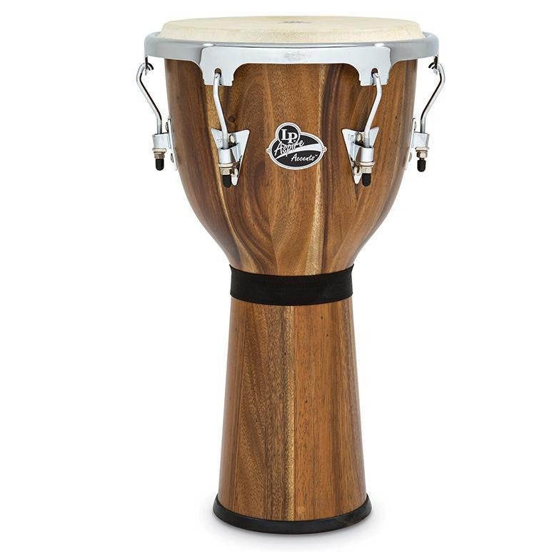 This is a picture of a LP Aspire Accent Djembe, 12 1/2-Inch, Siam Walnut