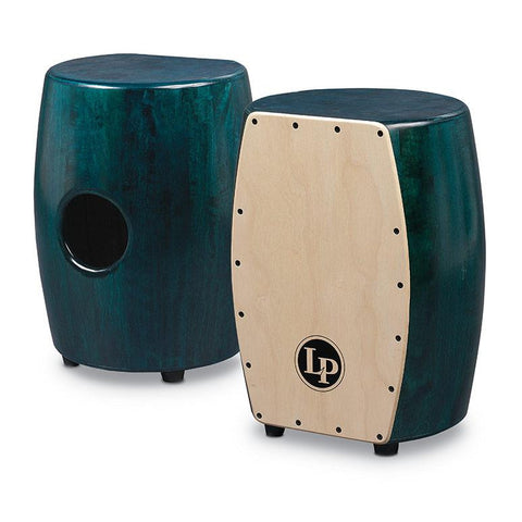 This is a picture of a Cajon Matador Stave Quinto, Green/Natural
