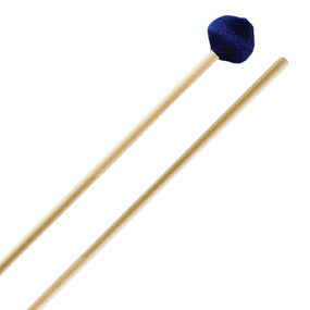 "This is a picture of a ProMark Diversity Series DV5R ""System Blue"" Marimba Mallet"