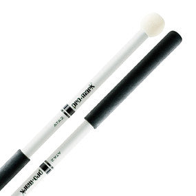 This is a picture of a ProMark Aluminum Shaft ATA2 Felt Head Tenor Mallet