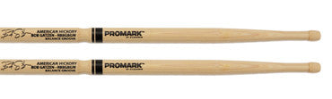 This is a picture of a ProMark Hickory Bob Gatzen Wood Tip Drum Sticks