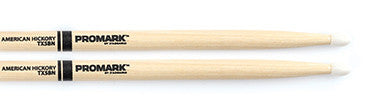 This is a picture of a ProMark TX5B Hickory 5B Nylon Tip Drum Sticks
