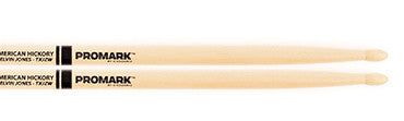 "This is a picture of a ProMark Hickory JZ ""Jazz"" Elvin Jones Wood Tip Drum Sticks"