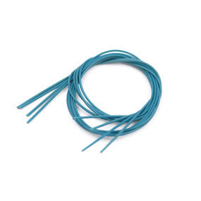 This is a picture of a PureSound 50 Foot Spool of Blue Cable Snare String