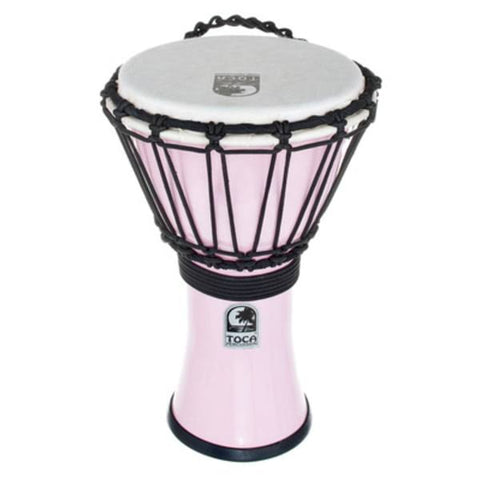 "Toca 7"" Djembe Freestyle Colorsound Pastel Pastel Pink"