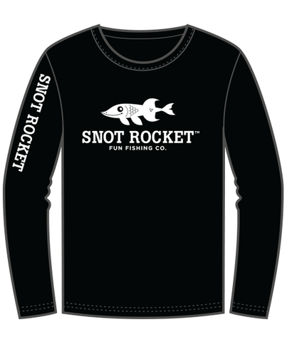 Youth Long Sleeve Logo Shirt