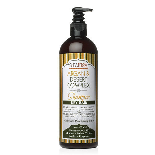 Argan + Desert Complex Natural Shampoo {DRY HAIR}