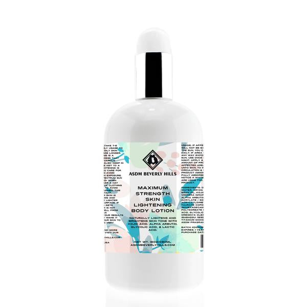 maximum strength skin lightening body lotion {arbutin}