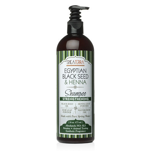 Egyptian Black Seed + Henna Natural Shampoo {STRENGTHENING}