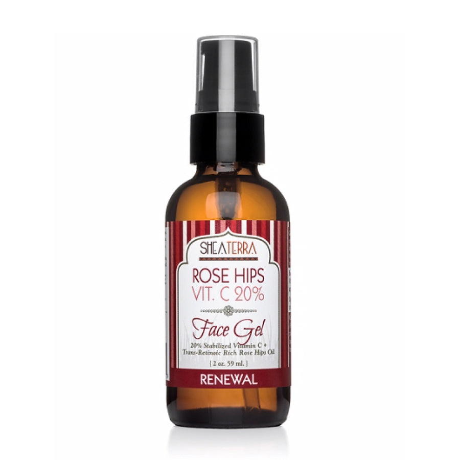 Rose Hips 20% Vitamin C Face Gel