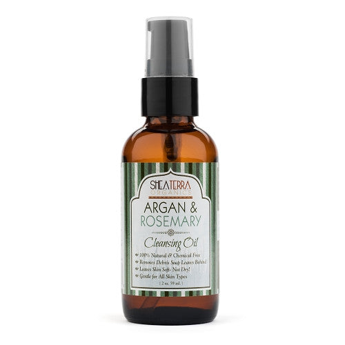 argan + rosemary facial cleansing oil - eZENtial