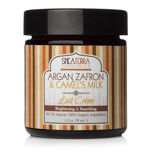 argan, zafron + camels milk face cream {brightening} - eZENtial - 1