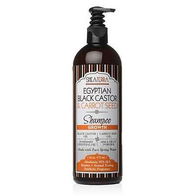 Egyptian Black Castor + Carrot Seed Natural Shampoo {GROWTH}