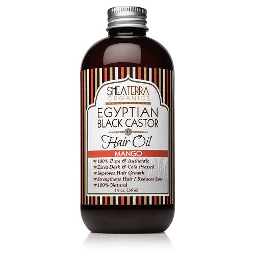 egyptian black castor hair oil {mango} - eZENtial