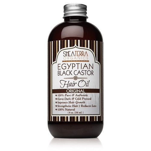 egyptian black castor hair oil - eZENtial