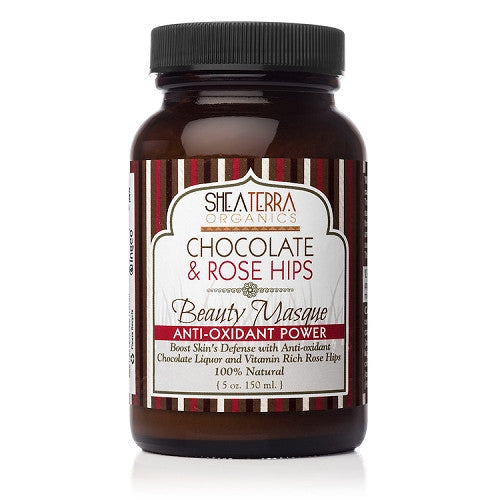Chocolate + Rose Hips Beauty Masque - Anti-Oxidant {raw powder form} - eZENtial