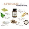african earth + sea detoxifying mineral face masque {raw powder form} - eZENtial - 2