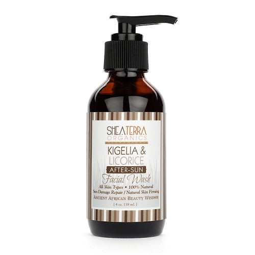kigelia + liquorice facial wash {for sun-damaged skin} - eZENtial - 1