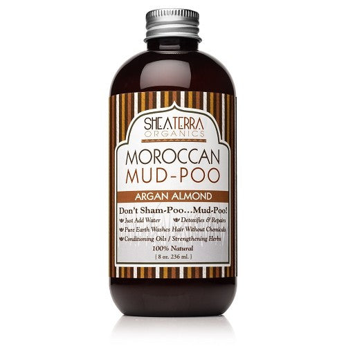moroccan mud-poo {raw powder form} | argan almond - eZENtial